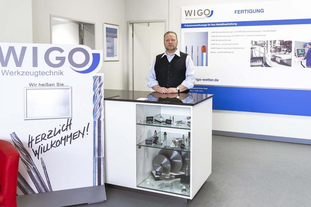 WIGO-Werkzeugtechnik | Foyer