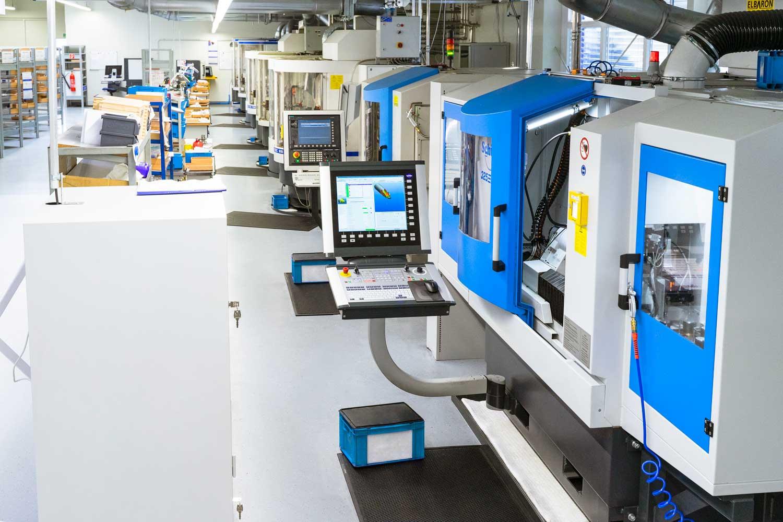 WIGO-Werkzeugtechnik | Fertigungshalle