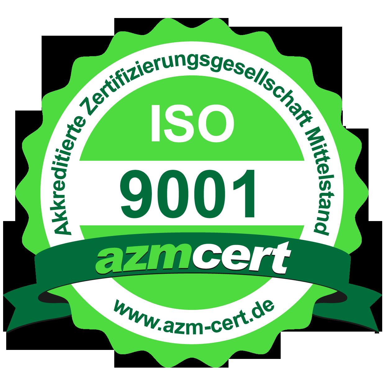 WIGO-Werkzeugtechnik | azm Zertifizierung | ISO 9001